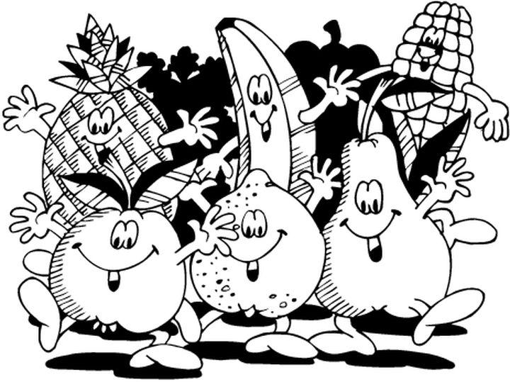 Coloriages A Imprimer Fruits Numero 469207