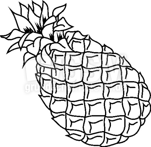 Coloriage cerise related keywords suggestions - Ananas dessin ...