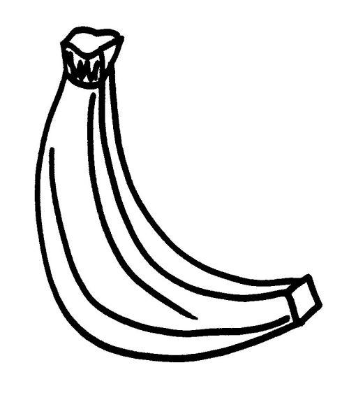 Coloriages à Imprimer Banane Numéro 25918