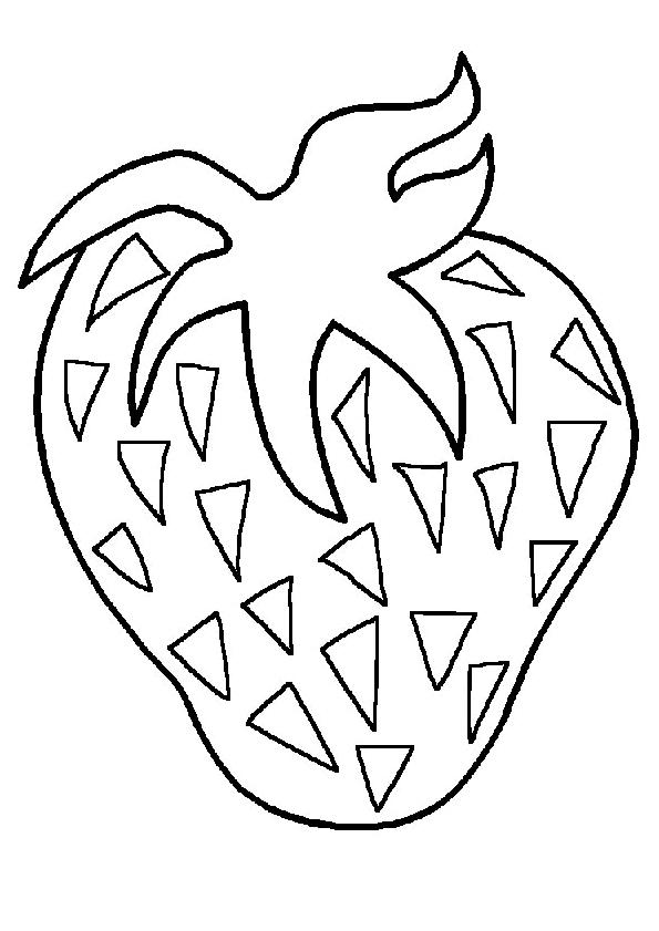 Coloriage Kiwi Fruit.Coloriages A Imprimer Kiwi Numero 521735