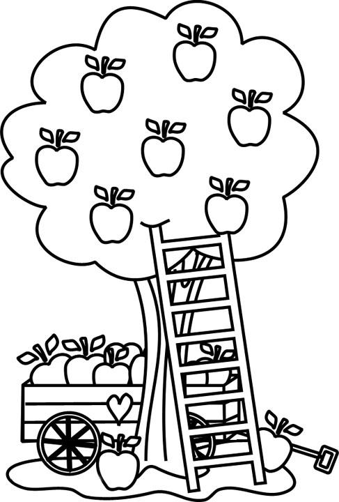 Coloriages imprimer pomme num ro 65242 - Dessin pomme apple ...