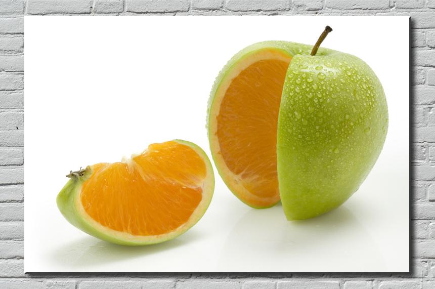 Tableau pomme verte no l pommes farcies aux champignons - Tableau chapeau melon pomme verte ...
