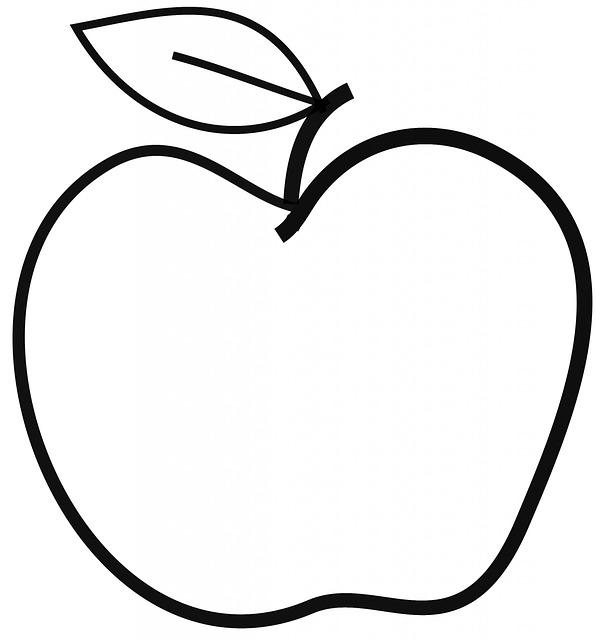 Coloriages imprimer pomme num ro 755899 - Dessin pomme apple ...