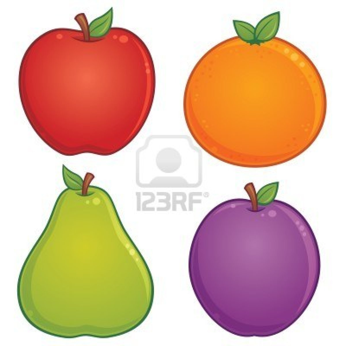Pin coloriage prune on pinterest - Dessins fruits ...