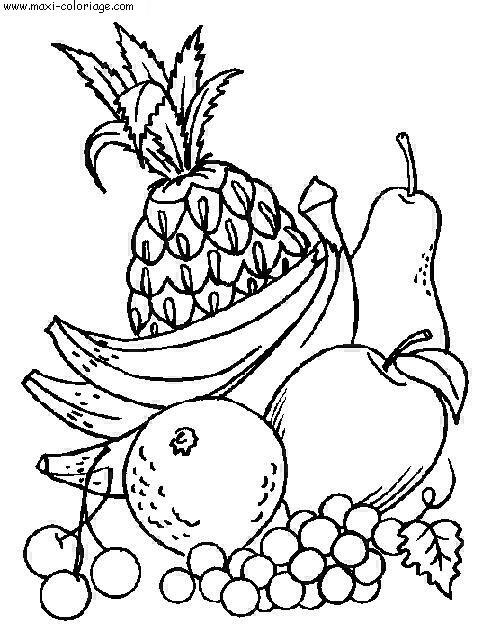 Coloriages à imprimer : Légumes, numéro : 13088