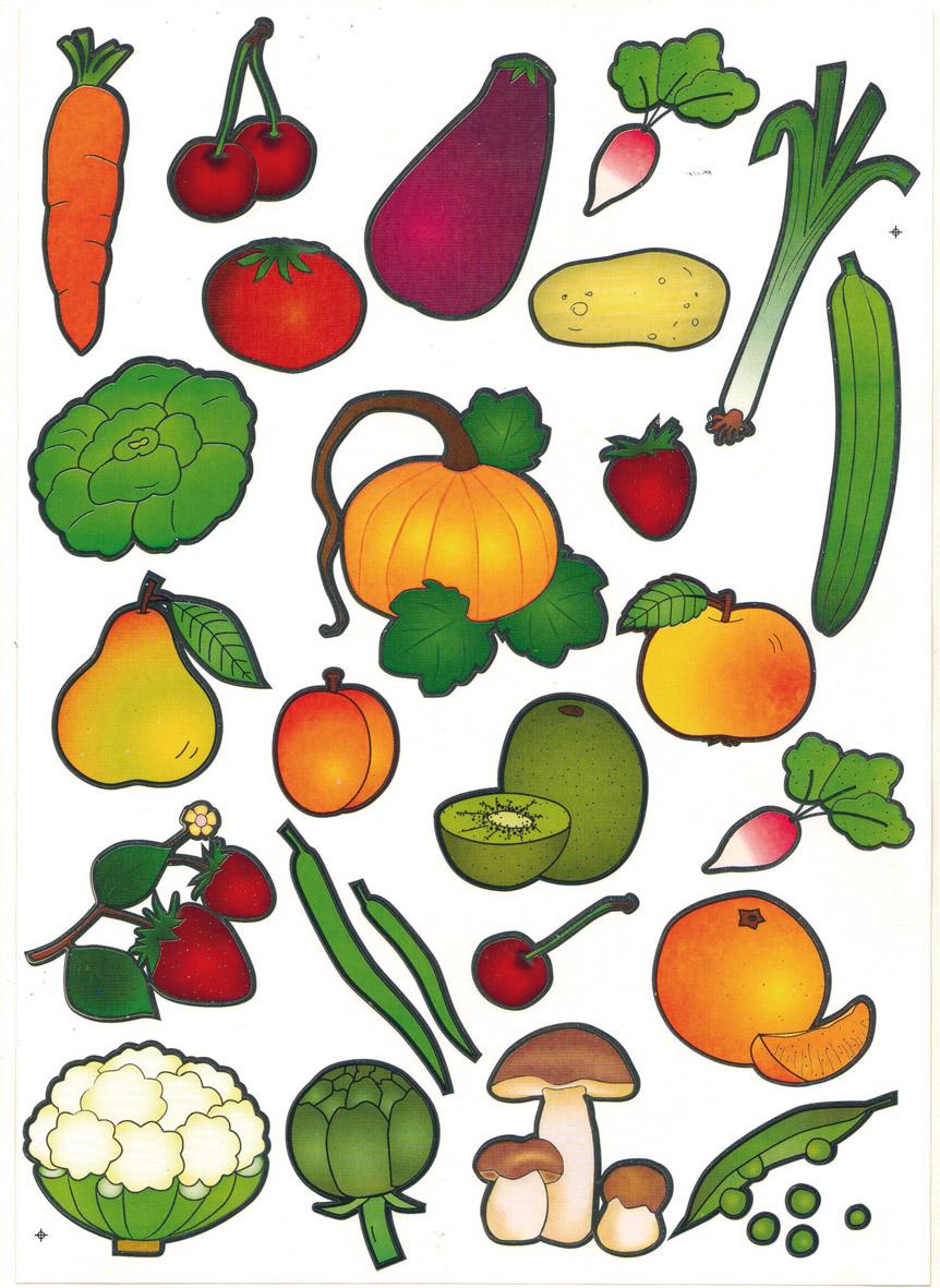 dessin en couleurs imprimer nature lgumes numro 13525