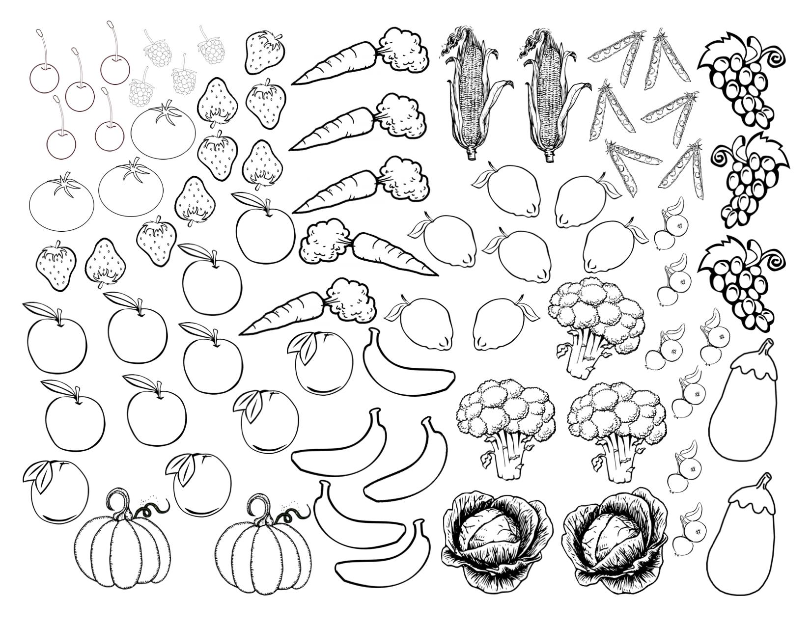 Coloriages à imprimer : Légumes, numéro : 1f66dfa2