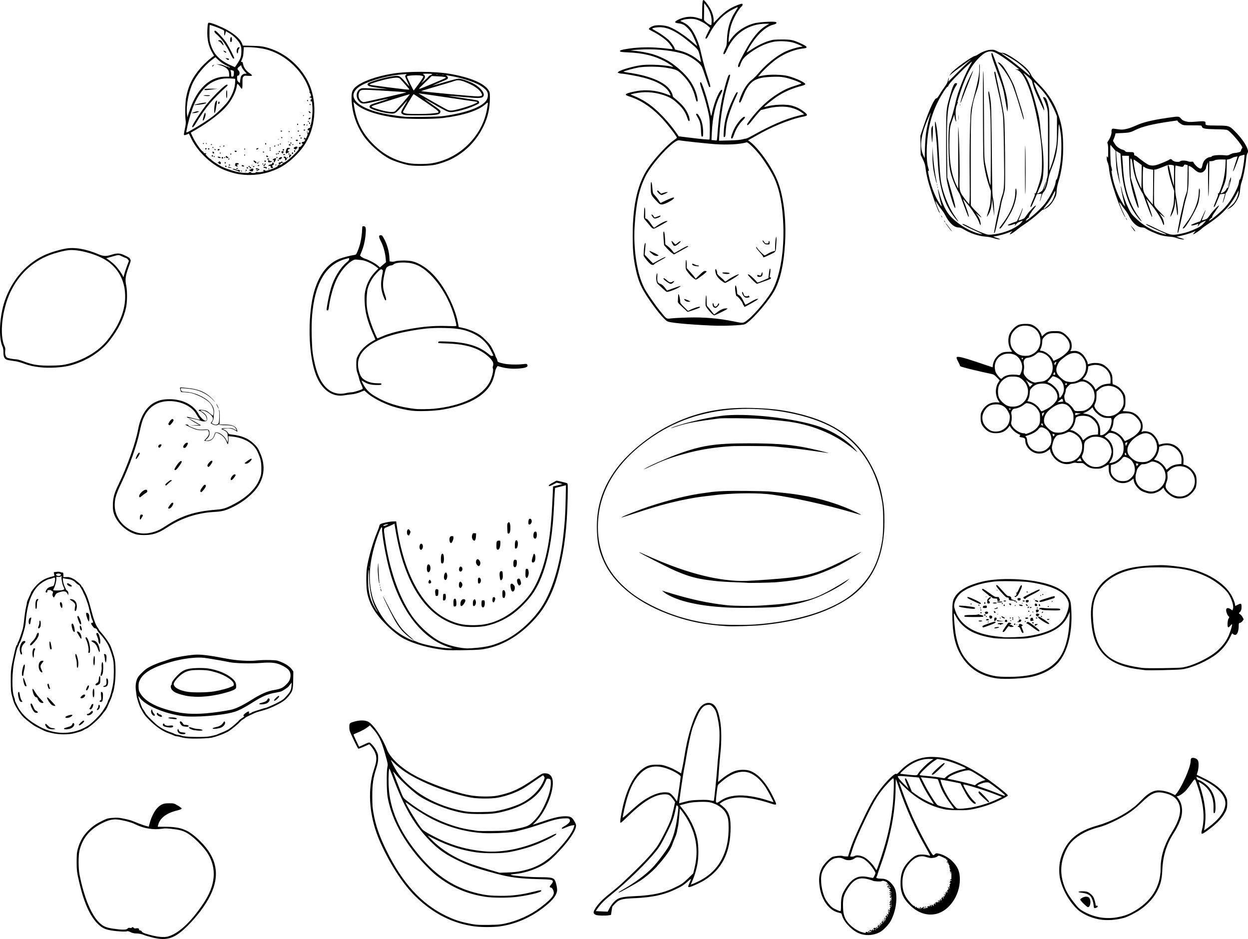 Coloriages à imprimer : Légumes, numéro : 69f531b1
