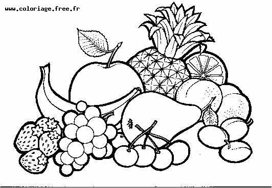 Coloriages à imprimer : Légumes, numéro : 9045