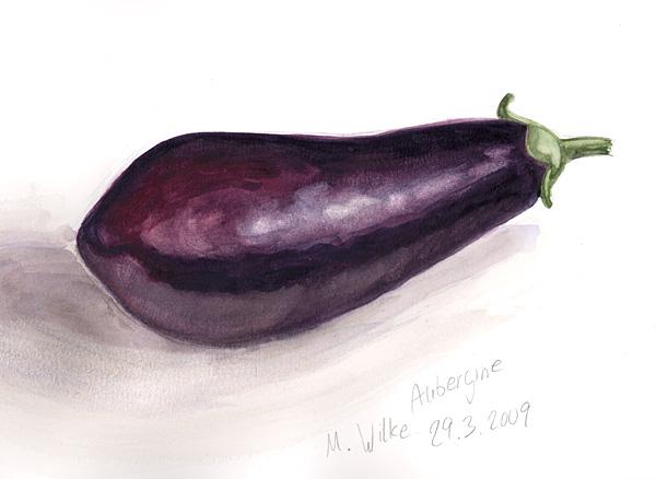 en couleurs à imprimer nature légumes aubergine numéro 685180