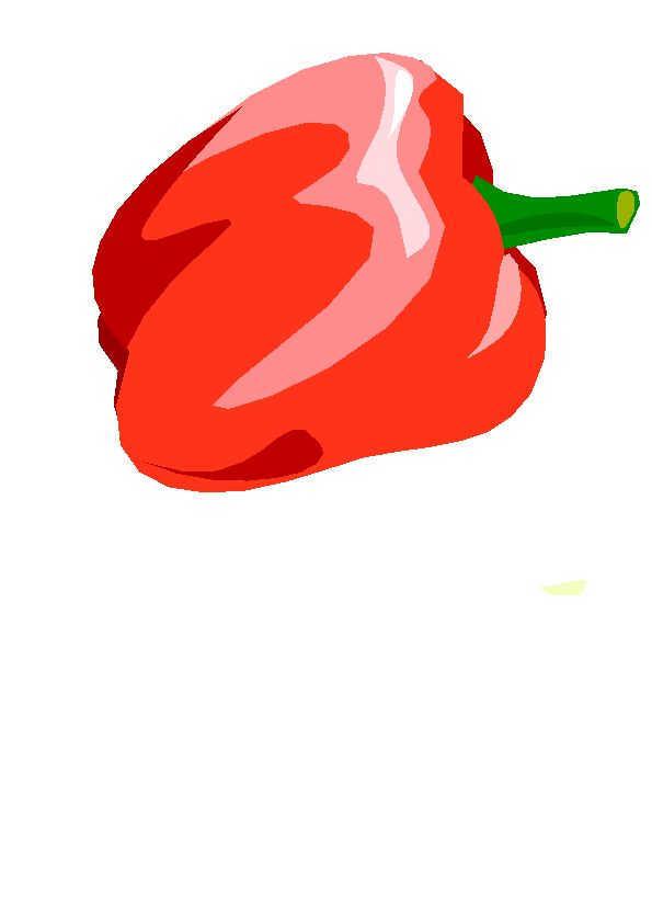 en couleurs à imprimer nature légumes poivron numéro