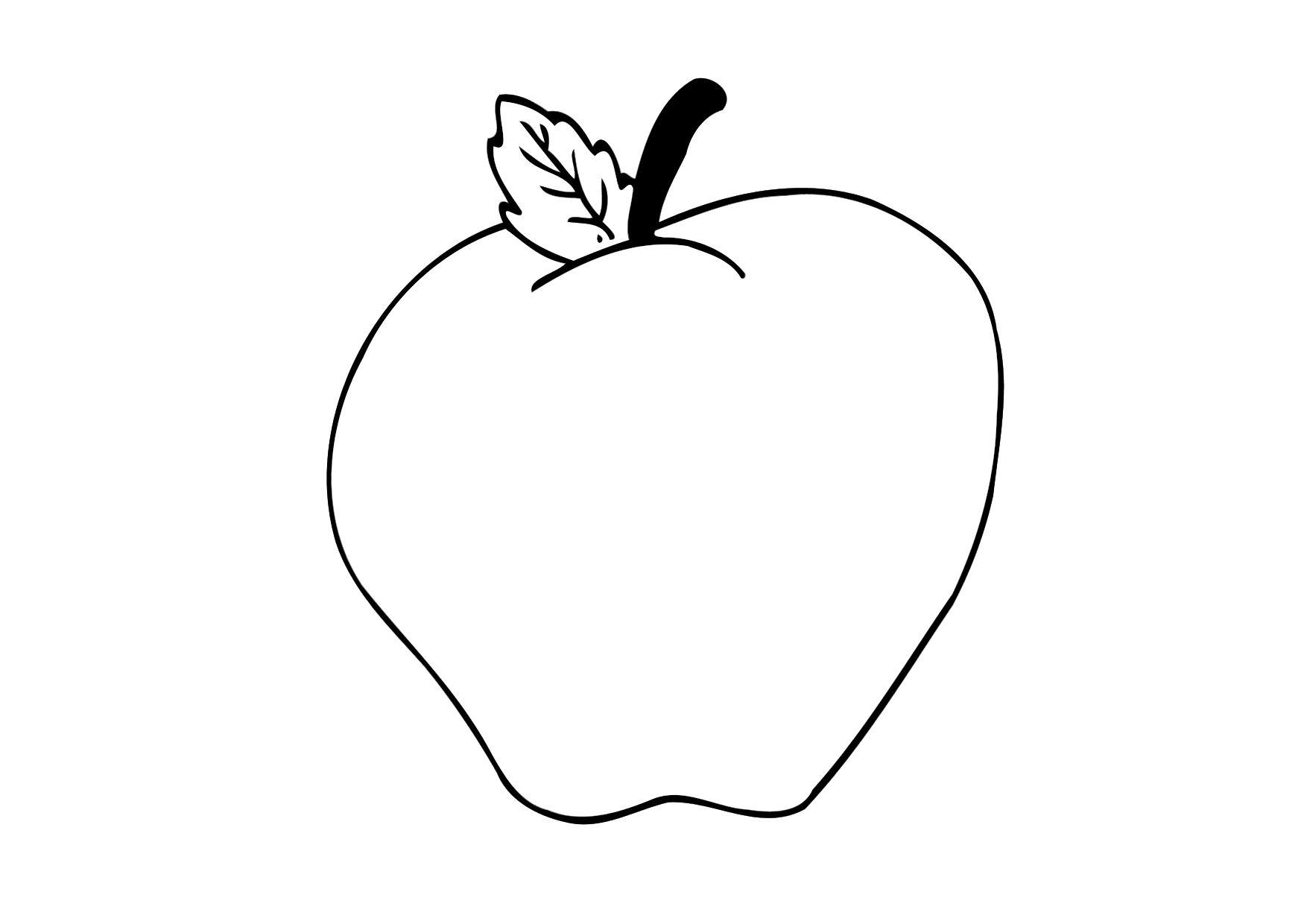 Coloriages imprimer pomme de terre num ro 24347 - Dessin pomme apple ...