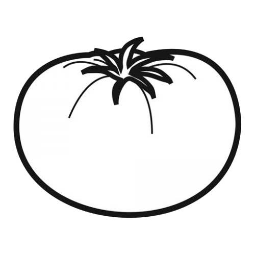 Coloriages imprimer tomate num ro 24423 - Tomate dessin ...