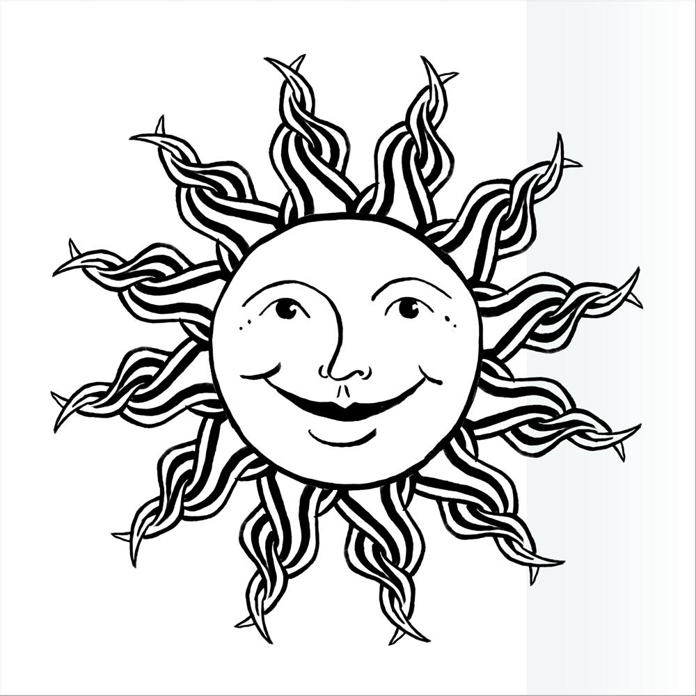 Coloriages à imprimer : Soleil, numéro : 26761