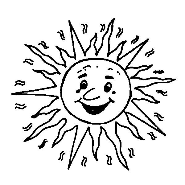 Coloriages à imprimer : Soleil, numéro : 3536