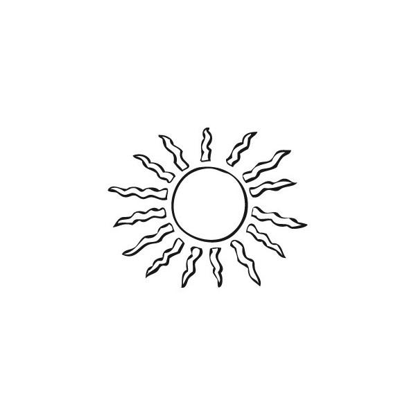 Coloriages à imprimer : Soleil, numéro : 3553