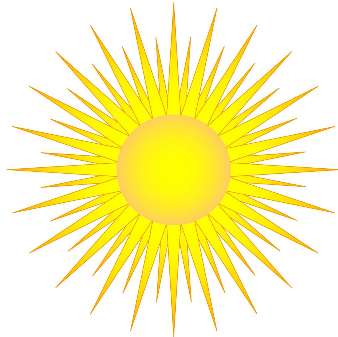 Dessin de soleil en couleur - Dessin du soleil ...