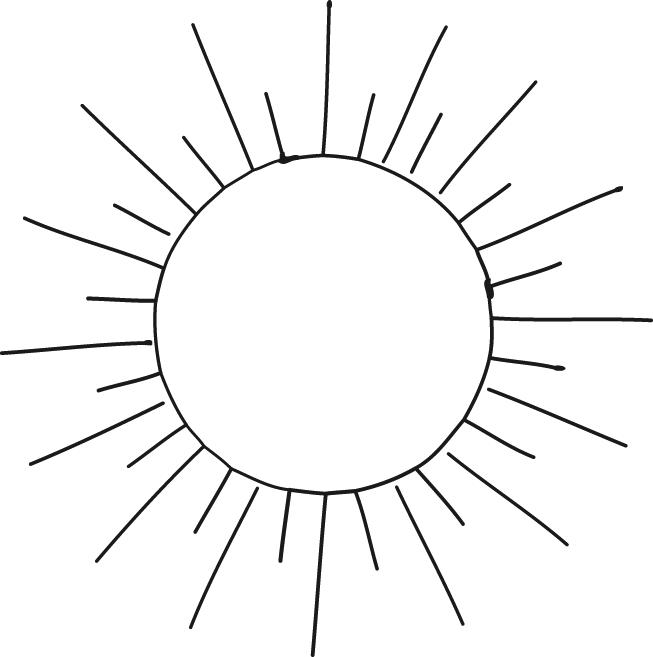 Coloriages à imprimer : Soleil, numéro : 5337