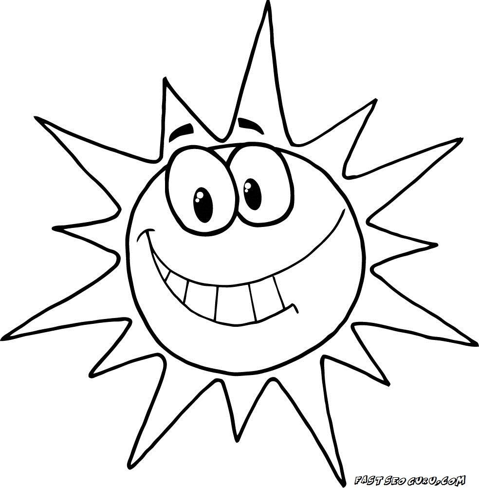 Coloriages à imprimer : Soleil, numéro : eb7d636d