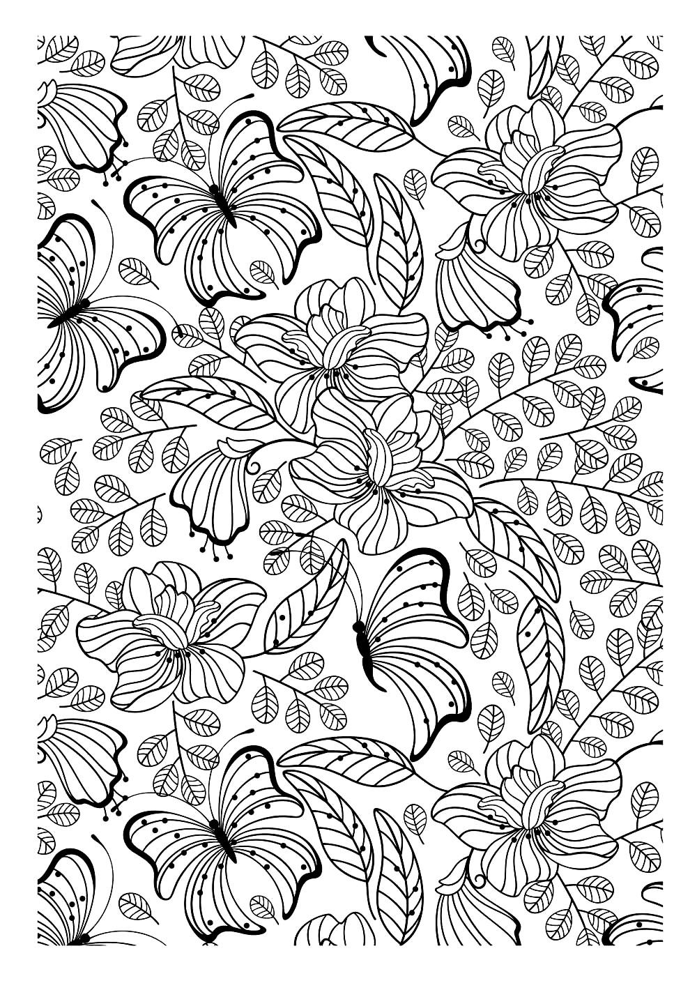 Coloriages à imprimer : Nature, numéro : a48b9245
