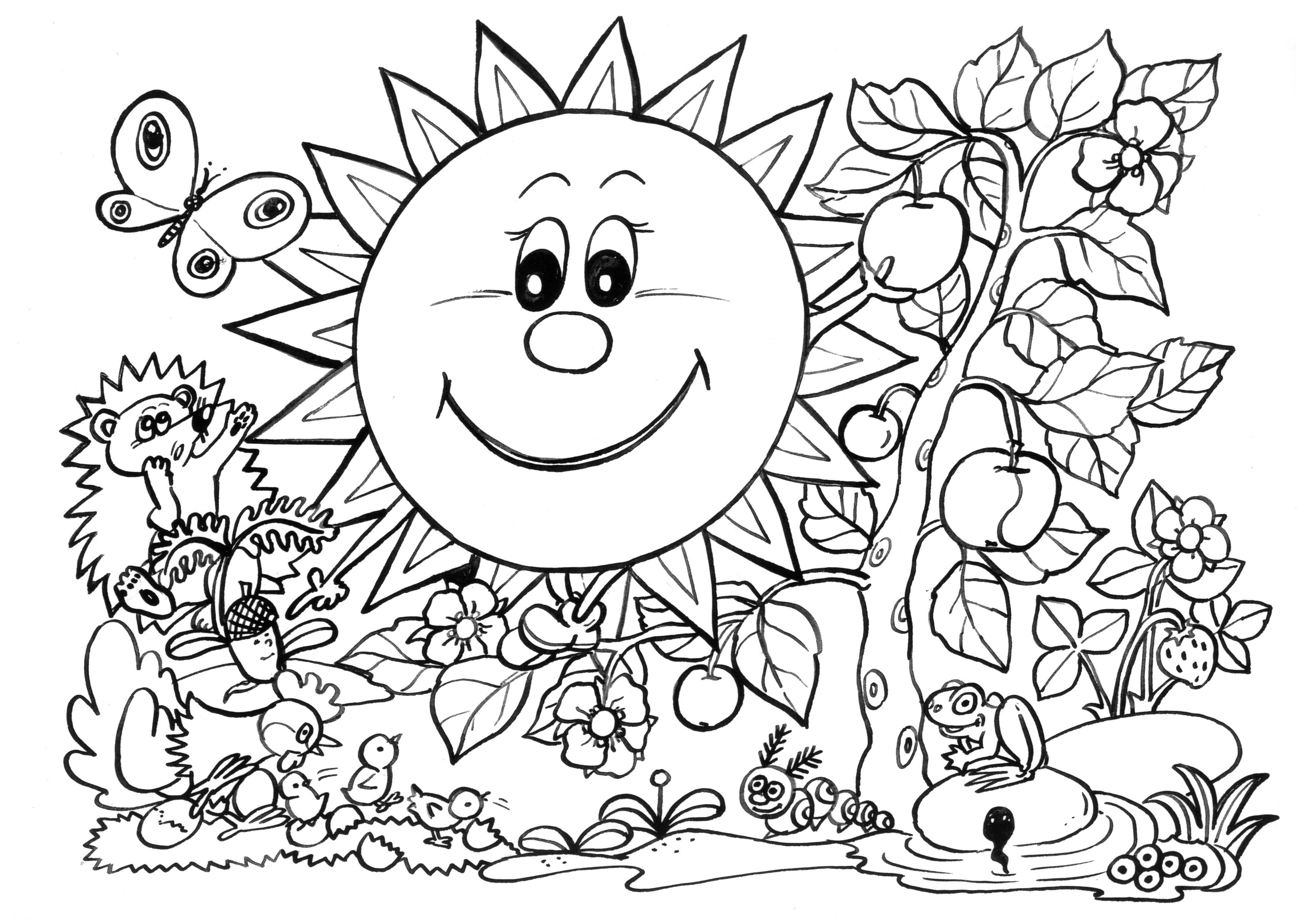 Coloriages à imprimer : Nature, numéro : b1131d2d