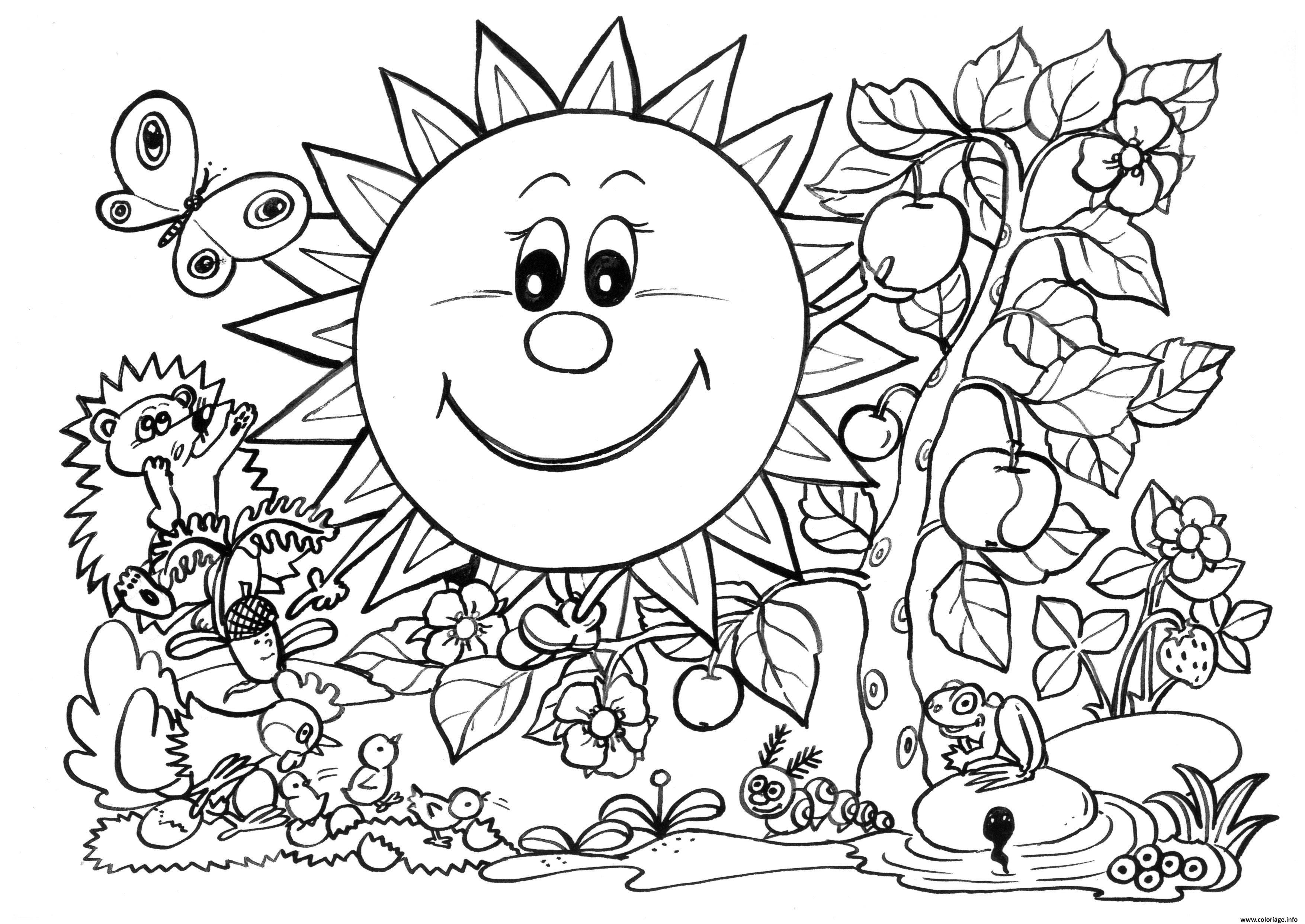Coloriages à imprimer : Nature, numéro : de5f9201