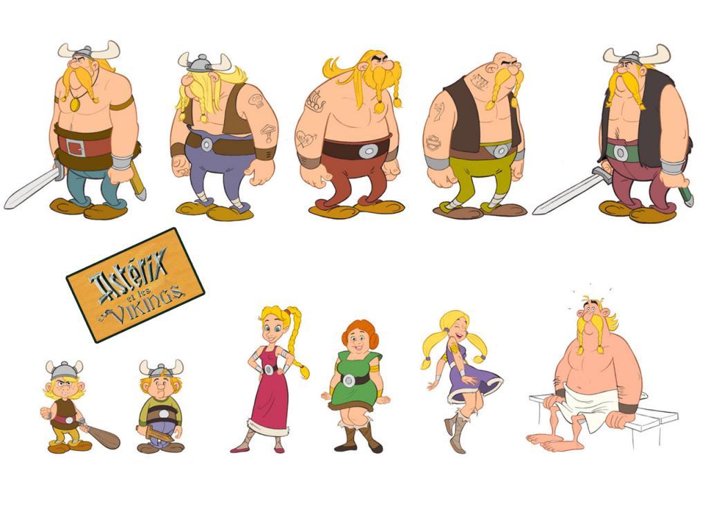 Dessins en couleurs imprimer ast rix num ro 11881 - Personnage asterix et obelix ...
