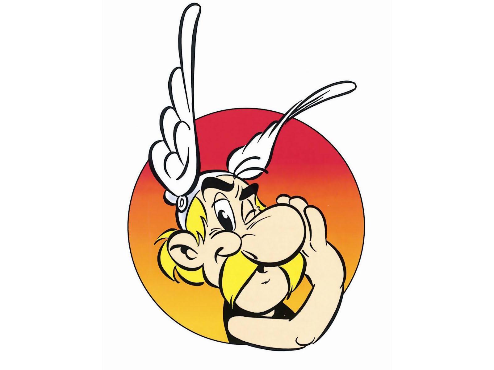 Dessin en couleurs imprimer personnages c l bres - Dessin de asterix ...
