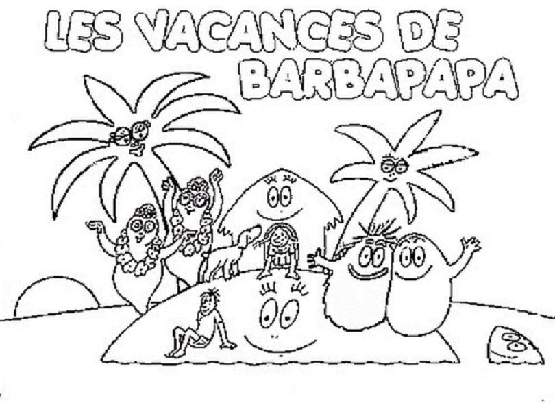 Coloriages imprimer barbapapa num ro 859 - Coloriage barbe a papa ...