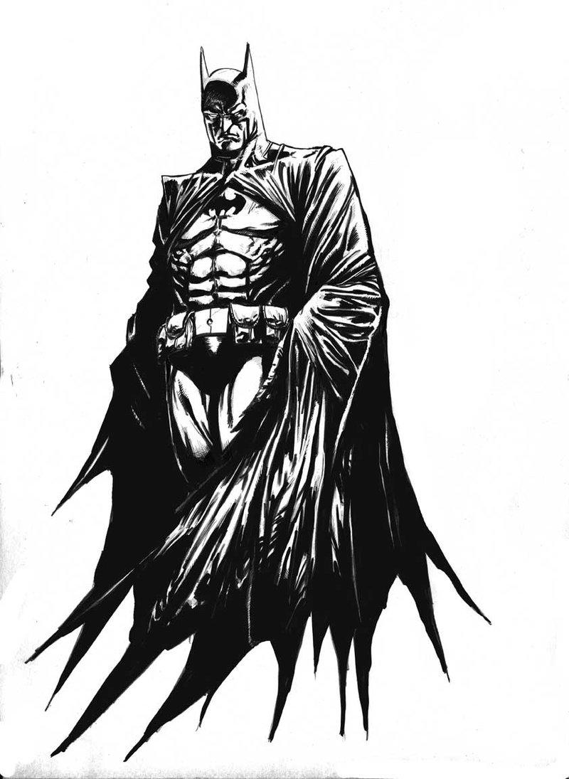 Coloriages A Imprimer Batman Numero 13469