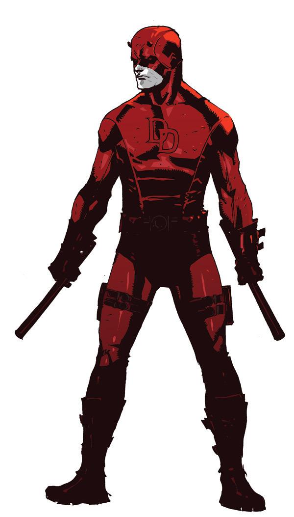 Dessins En Couleurs à Imprimer Daredevil Numéro 11267