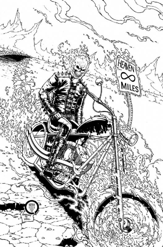 Coloriages imprimer ghost rider num ro 17653 - Comics dessin ...