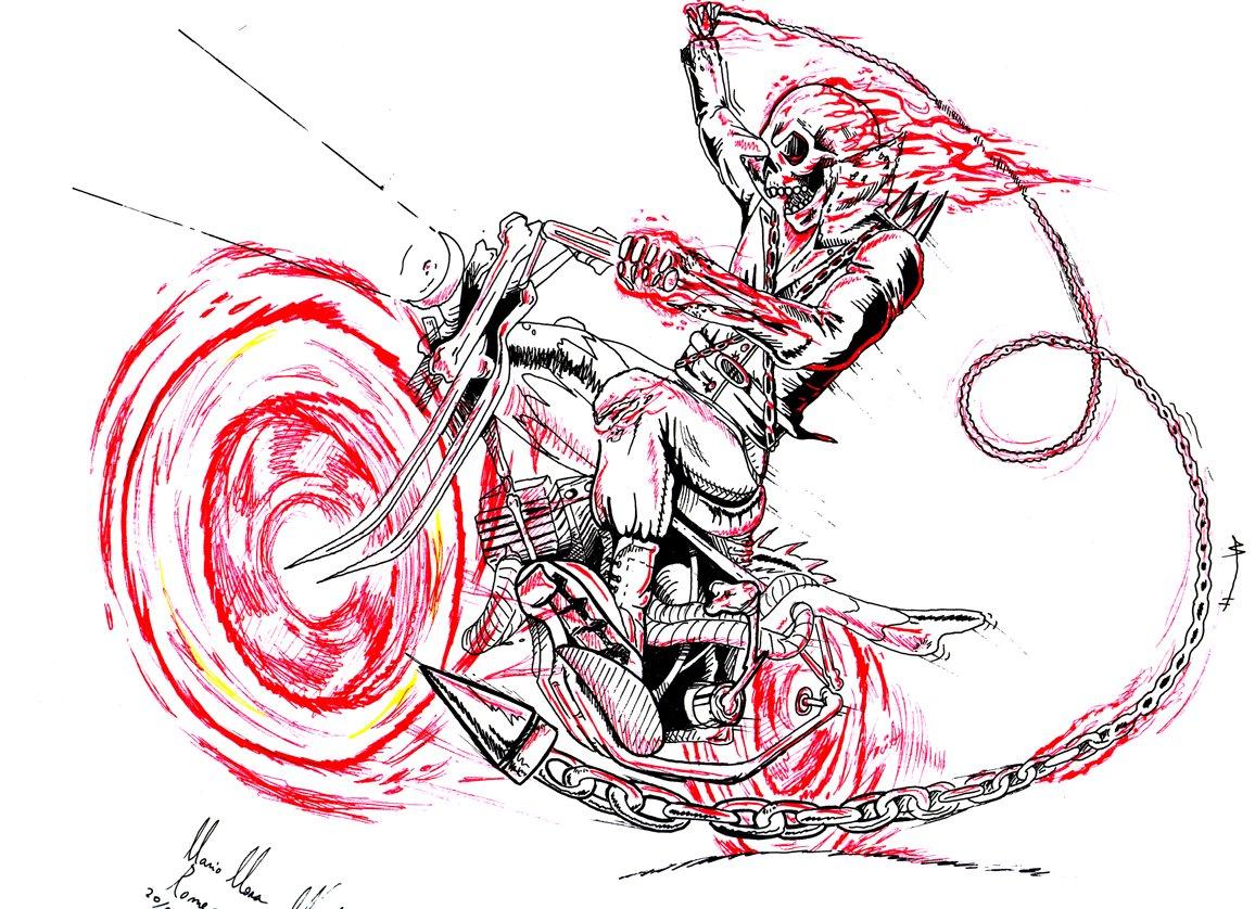 Dessins En Couleurs à Imprimer Spiderman Numéro 22321: Dessins En Couleurs à Imprimer : Ghost Rider, Numéro : 20017