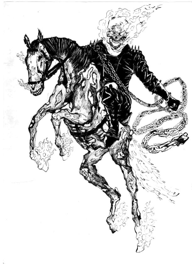 Coloriages imprimer ghost rider num ro 27993 - Coloriage ghost rider ...
