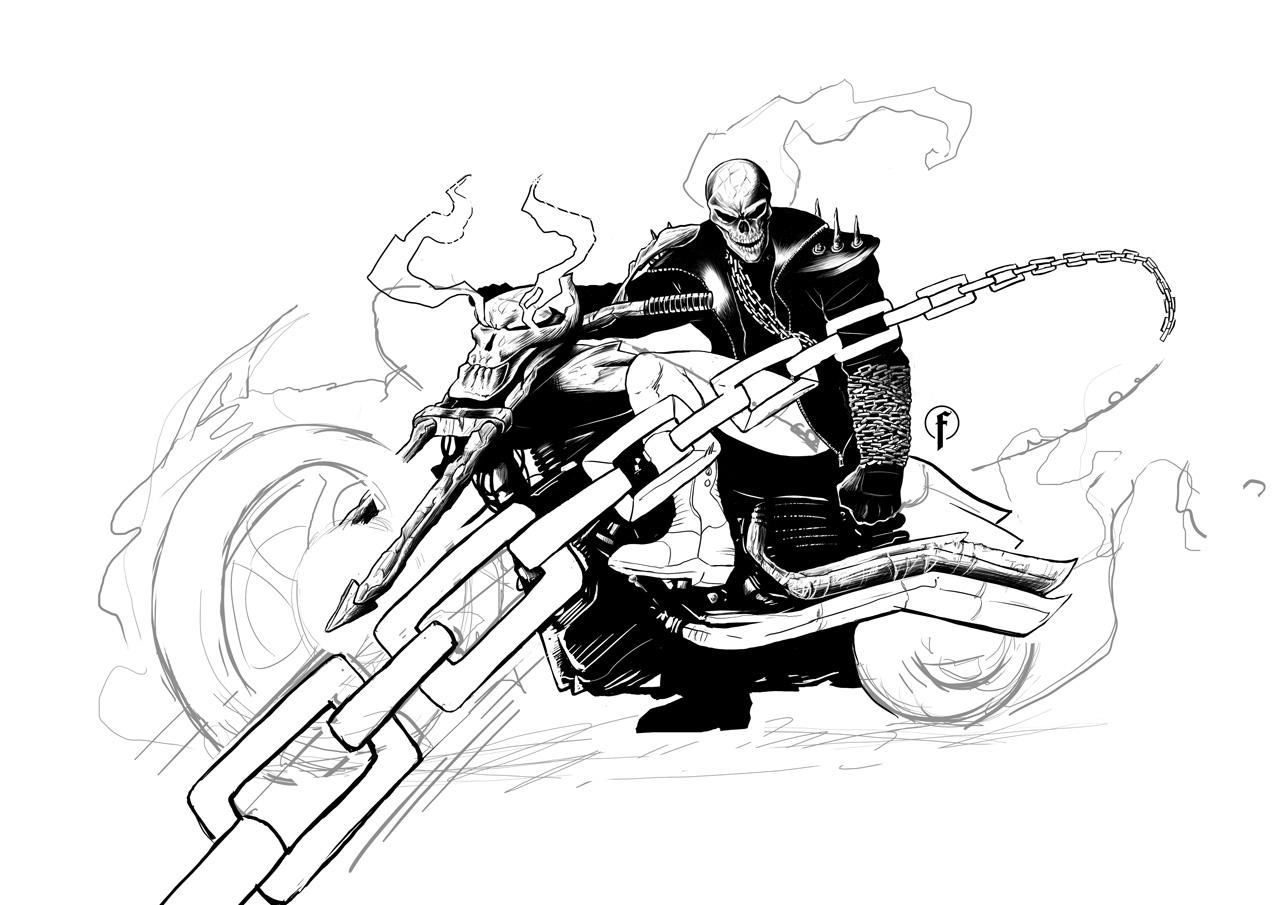 Coloriages imprimer ghost rider num ro 424108 - Dessin de ghost rider ...