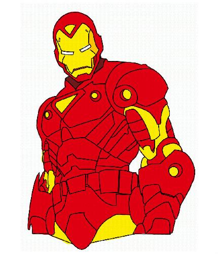 Dessins En Couleurs A Imprimer Iron Man Numero 18816
