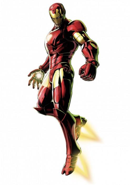 Dessins En Couleurs A Imprimer Iron Man Numero 20446