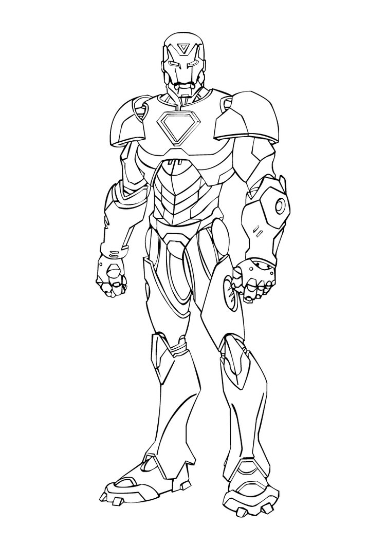 Coloriages imprimer iron man num ro 4591 - Coloriage ironman ...