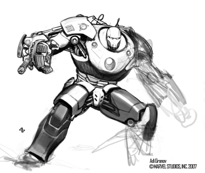 Coloriages à imprimer : Iron Man, numéro : 8617
