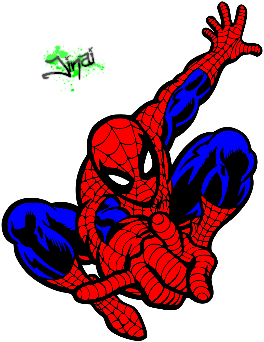 Spiderman dessin couleur - Spider man en dessin ...