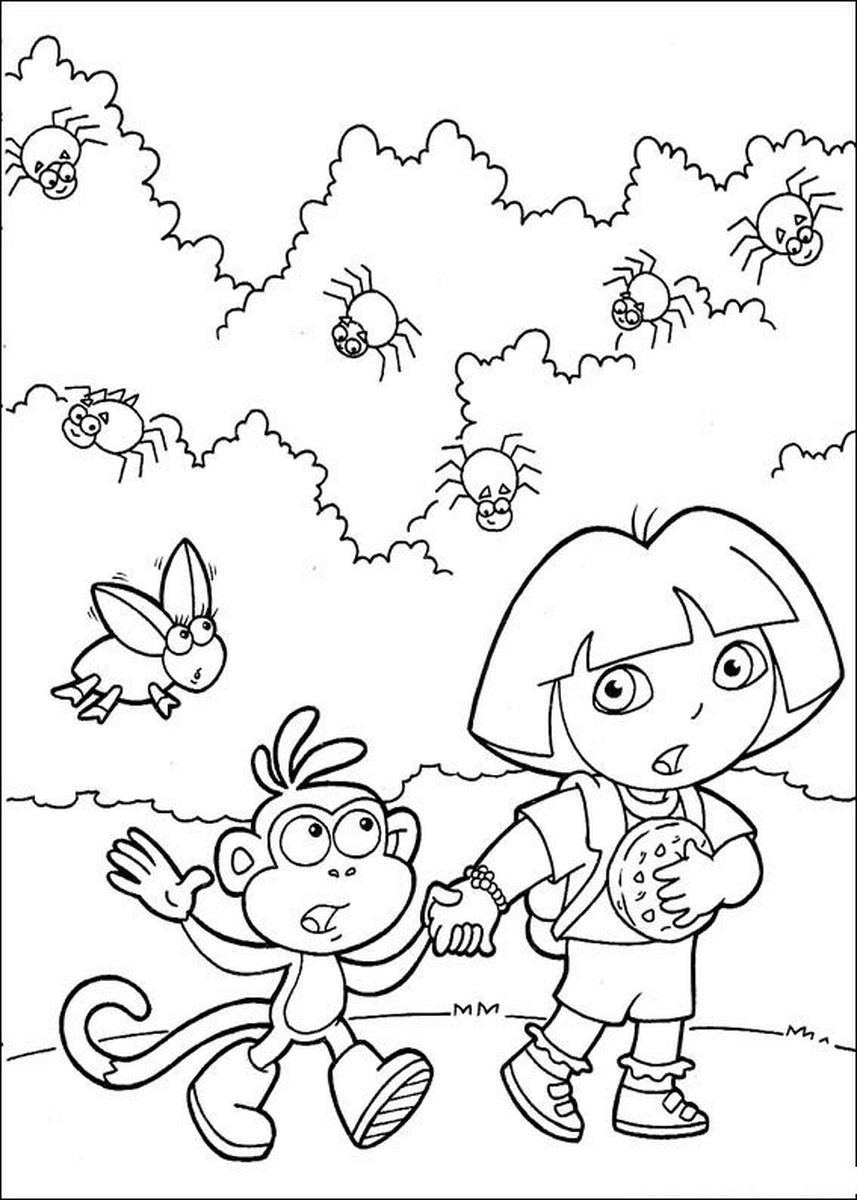 Coloriages à imprimer : Dora, numéro : 27870