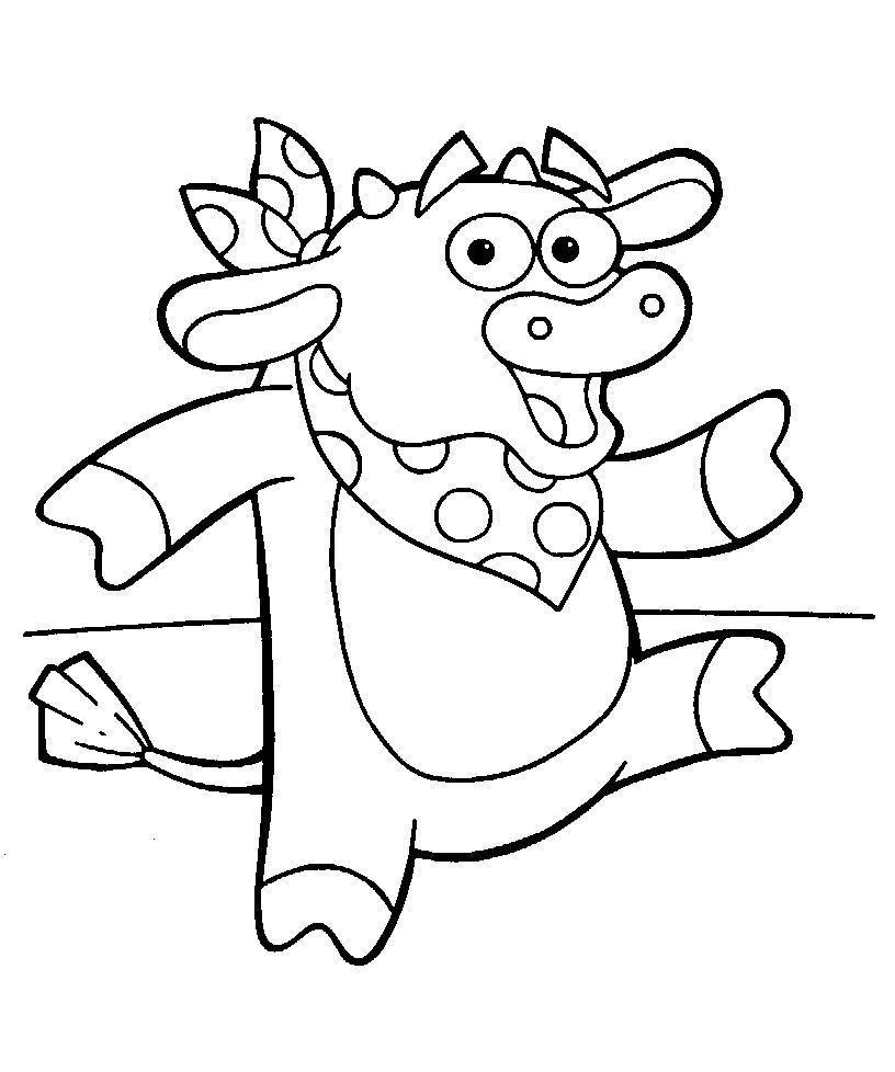 Coloriages à imprimer : Dora, numéro : 3469
