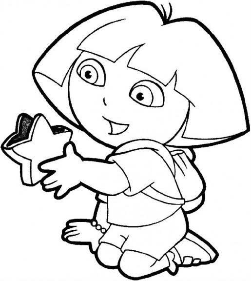 Coloriages à imprimer : Dora, numéro : 3472