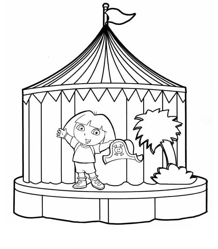 Coloriages à imprimer : Dora, numéro : 58779