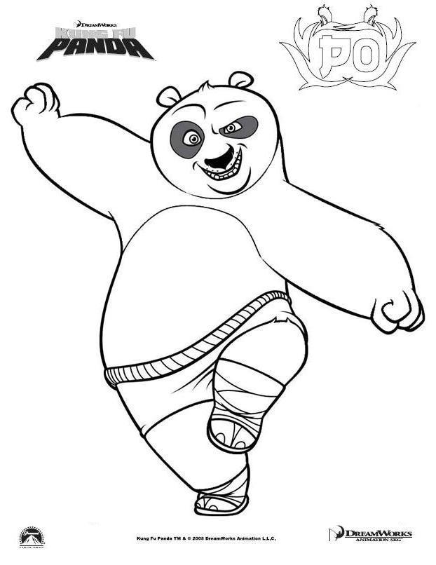 Coloriages à imprimer : Kung Fu Panda, numéro : 609236