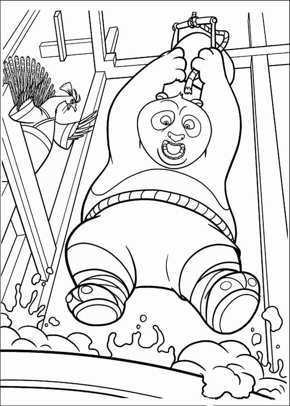 Coloriages imprimer Kung Fu Panda num ro 671574