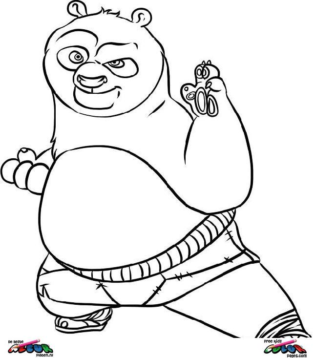 Coloriages à imprimer : Kung Fu Panda, numéro : 754145
