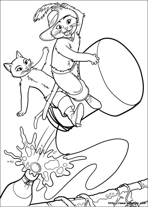 Coloriage Le Chat Potte A Imprimer.Coloriages A Imprimer Le Chat Potte Numero 543591
