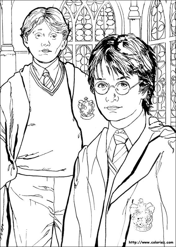 Harry potter coloring pages ginny weasley quidditch