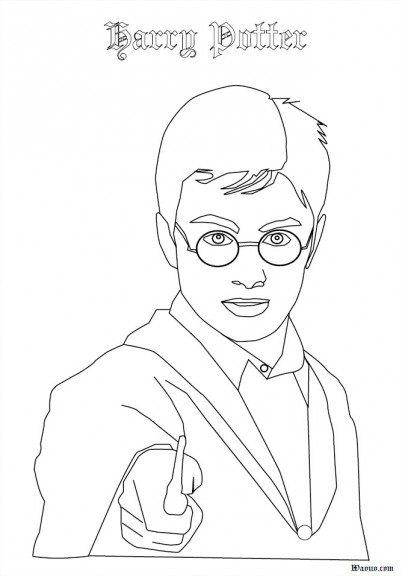 Coloriages A Imprimer Harry Potter Numero 4251
